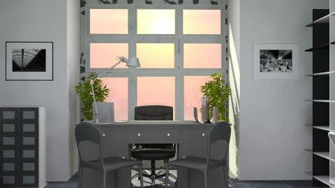 studio - Modern - Office  - by catcarla