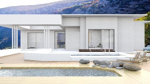 Haus in den Bergen - by tika 008