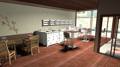 Choco Shop - Vintage - Kitchen  - by HGranger2