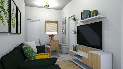 small living - Living room  - by soralobo