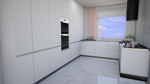 simply pink - Kitchen  - by ewcia3666