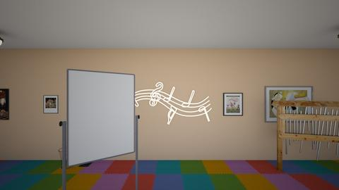classroom music  - Modern - Office  - by lizzikkoo
