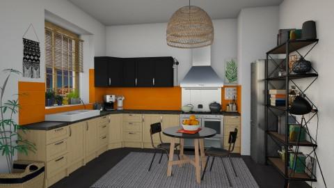 Apartment - Eclectic - Kitchen  - by katarina_petakovi