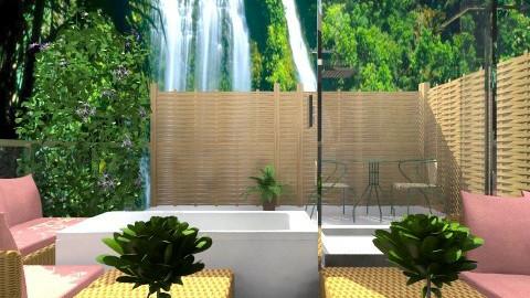2OutdoorBathroom - Modern - Bathroom  - by Luisy