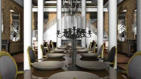 Dine at the Taj - Classic - Dining room  - by Your well wisher