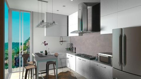 MOCCA - Modern - Kitchen  - by sahfs