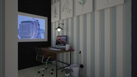 minimalist office  - Minimal - Office  - by Cardinal14
