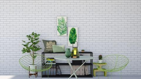 Green - Living room  - by SouthernDeco