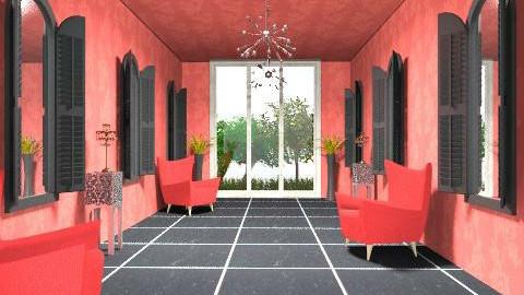 pasillo rojo - Modern - Garden  - by ana2000