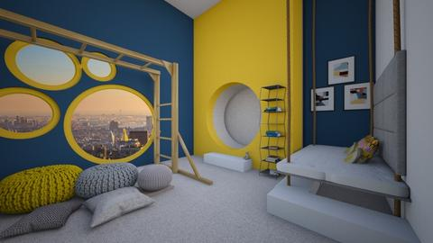 Preschooler Playroom - Glamour - Kids room  - by helsewhi