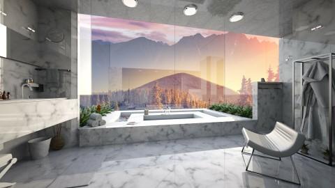 Marble Bathroom - Bathroom  - by Tuubz