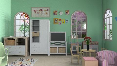 Kids Nursery  - Kids room - by iwoolnough