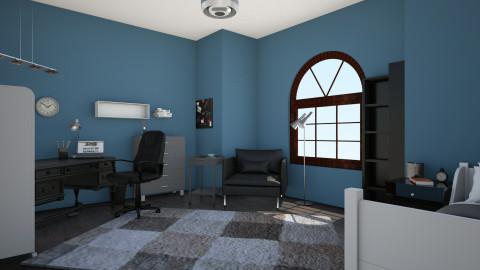 zex bedroom - Minimal - Bedroom  - by bloodandtea