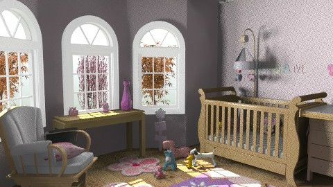 Small baby room - Classic - Kids room  - by Sziszi