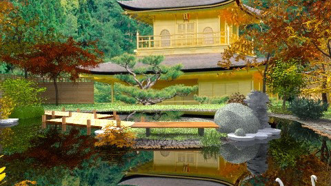 Reflection - Global - Garden  - by starsector