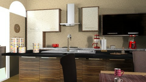 wood - Country - Kitchen  - by faar70