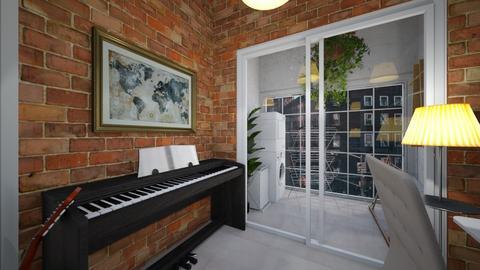 studio workspace - Minimal - Office  - by BlokhEphroni