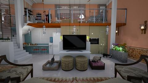 MS LOFT - Modern - Living room - by Mariesse Paim