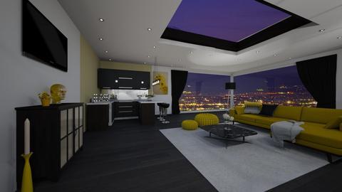 House bar - Glamour - Living room - by Mesehabbal