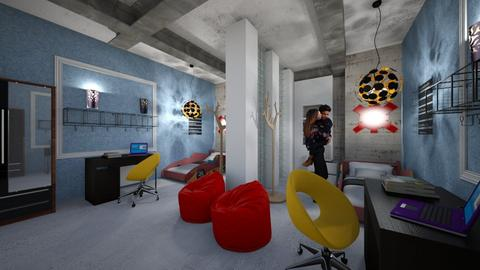 Boys_Modern_Room - Modern - Kids room  - by Nikos Tsokos