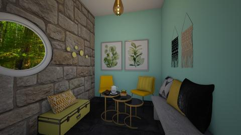 Cute coffee corner - Living room  - by Meghan White