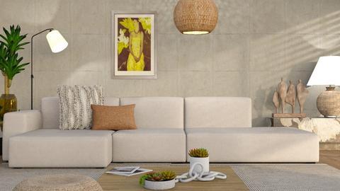 M_ Maleana - Living room  - by milyca8