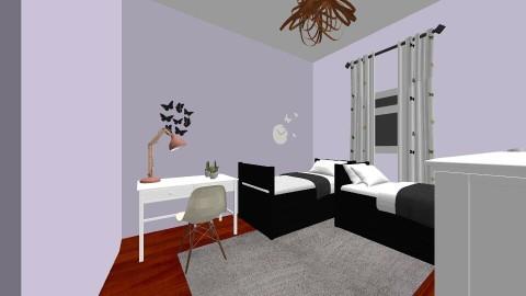bedroom design - by fowlerol