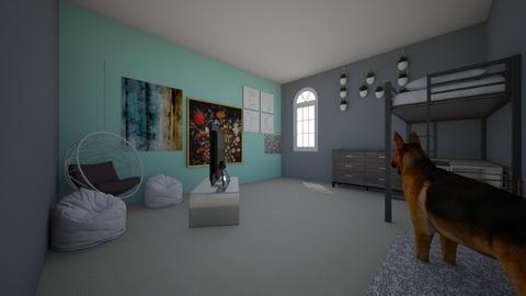 Victoria Ostrowski - Bedroom  - by ostrvict23