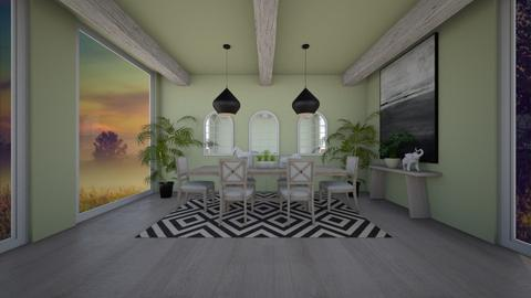 dinning room - Dining room  - by belle alderton