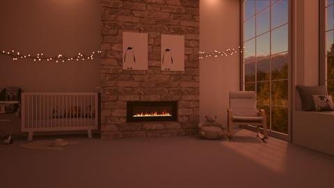fireplace_contest_baby - Kids room  - by yellowAri