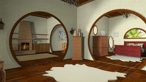 Bilbo Hole - Country - Living room  - by HGranger2
