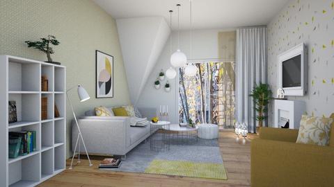 flat4_B - Modern - Living room  - by levai_magdolna