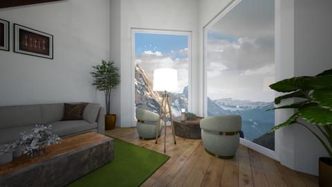 gorski salon - Classic - Living room  - by monek299
