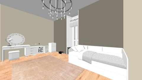 Teen bedroom - Glamour - Bedroom  - by Zandra Docken