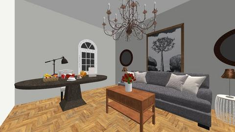 malithu is make - Living room  - by prasad wijesinghe