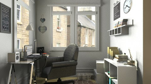 Study corner - Classic - Office - by Tuija