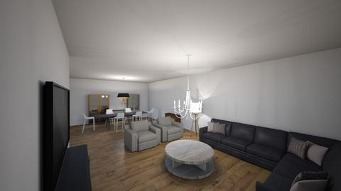 My Dream Home - Modern - Living room  - by BTS_ARMY26