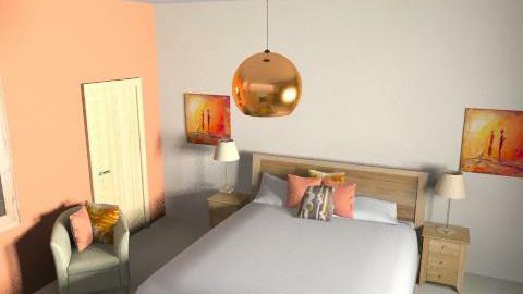Bedroom 1 - Rustic - Bedroom  - by Coki83