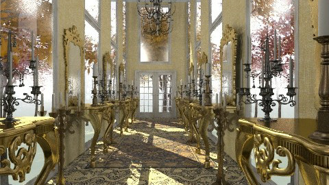 Royal hallway - Classic - Hallway - by Your well wisher