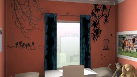 2 Gyerek szobája3c - Minimal - Kids room  - by Vargn Nagy Ceclia