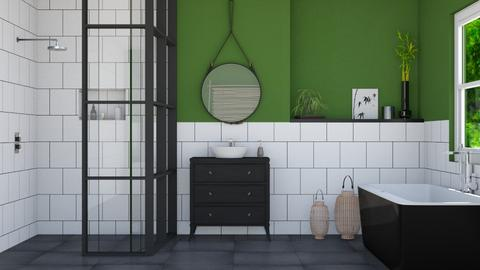 Bamboo - Bathroom  - by flowerchild369