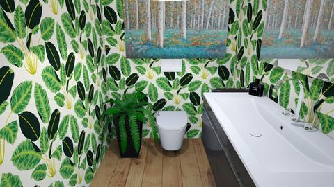 my toilet - Bathroom  - by kwiatowa pandzia