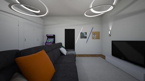 cinema - Living room - by mariatorreso7