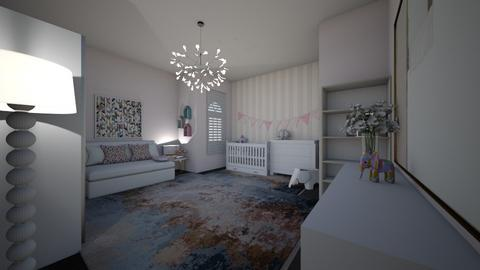 baby girl room - Kids room  - by DAGNH