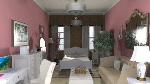 Vintage Moderna - Vintage - Bedroom  - by ML_Designs79