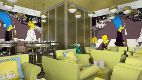 SimpsonCoffeeBar - Glamour - by Luisy