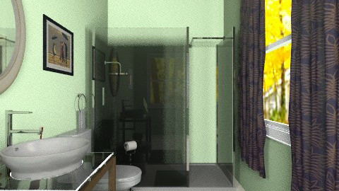 tiniest bathroom - Minimal - Bathroom  - by PennyDreadful