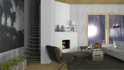 Winter Warehouse - Vintage - Living room - by Carliam