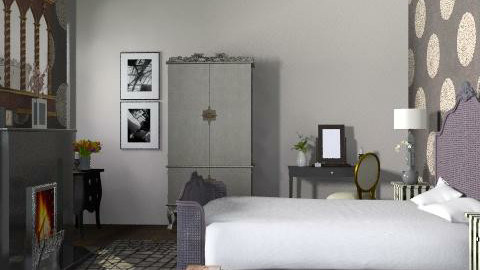 Classy Bedroom - Glamour - Bedroom  - by yasemin04