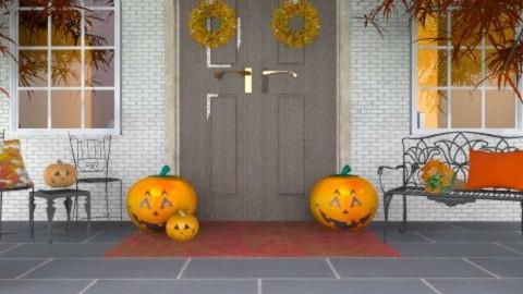 halloween - Garden  - by Rechoppy92